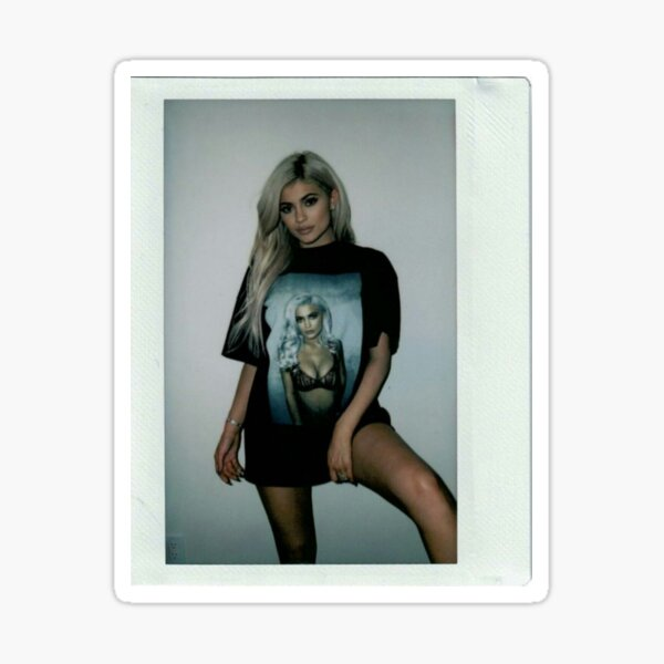Kylie Jenner Polaroid 3.0 Sticker