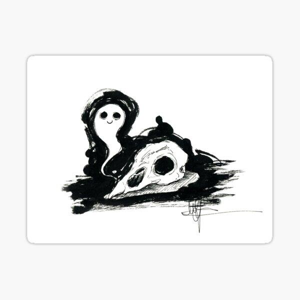 Little ghost Sticker