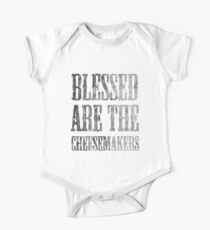 Blessed are the cheesemakers   Cult TV Best of British   Monty Python Kids Clothes