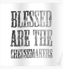 Blessed are the cheesemakers | Cult TV Best of British | Monty Python Poster