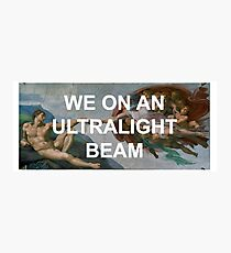 We On An Ultralight Beam Photographic Print