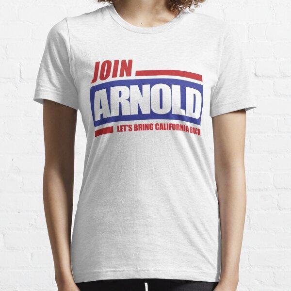 Arnold Schwarzenegger 2003 Campaign Logo Essential T-Shirt