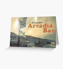 from Arcadia Bay Greeting Card