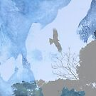 Yokosuka - Hawk In Flight 1 by Beverly Claire Kaiya
