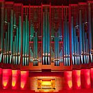 Christchurch Town Hall pipe organ by Jenny Setchell
