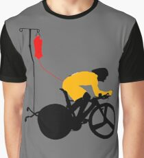 Cyclist Blood Doping Graphic T-Shirt