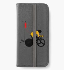 Cyclist Blood Doping iPhone Wallet/Case/Skin