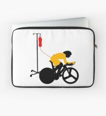 Cyclist Blood Doping Laptop Sleeve