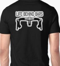 Bicycle, Cycle, Bike, Racing Bike, Road Bike, Racing Bicycle, Life behind bars, on BLACK Unisex T-Shirt