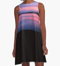 Tranquility at Dusk A-Line Dress