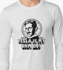 Tesla Is My Ohm Boy T-Shirt