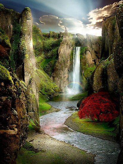 Shangri-La River by Cliff Vestergaard