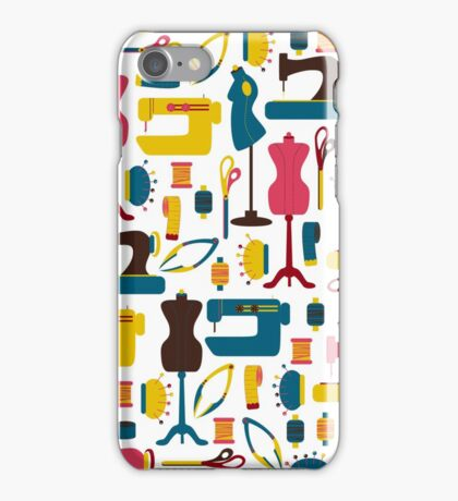 Sewing Accessories iPhone Case/Skin