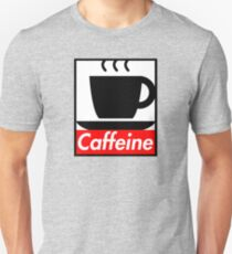 Caffeine coffee cup obey poster (I love coffee) T-Shirt