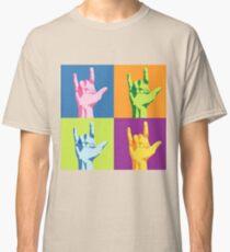 ASL-I Love You Sign Classic T-Shirt