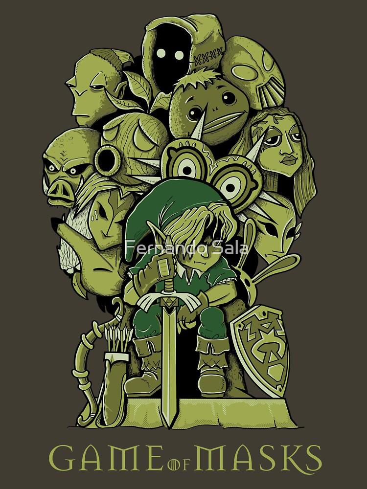 TShirtGifter presents: GAME OF MASKS | Unisex T-Shirt