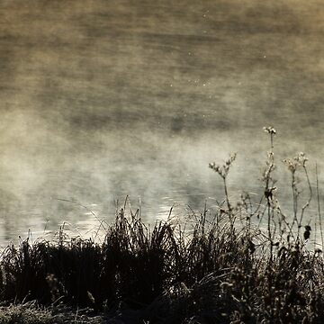When the water smokes by patmo