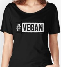 #VEGAN Women's Relaxed Fit T-Shirt