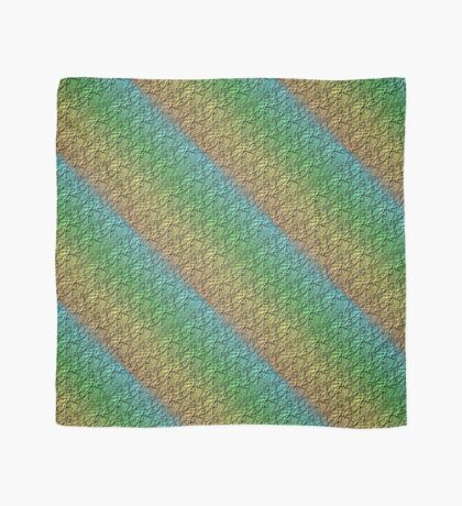 Rainbow Flowers Design Scarf