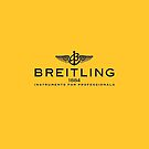 Breitling Black on Yellow by AndrewBerry