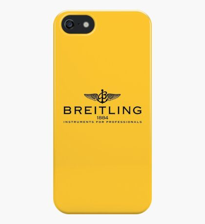 Breitling Black on Yellow iPhone Case/Skin