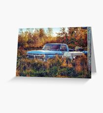 Vintage Ford Truck - Classic Country Greeting Card