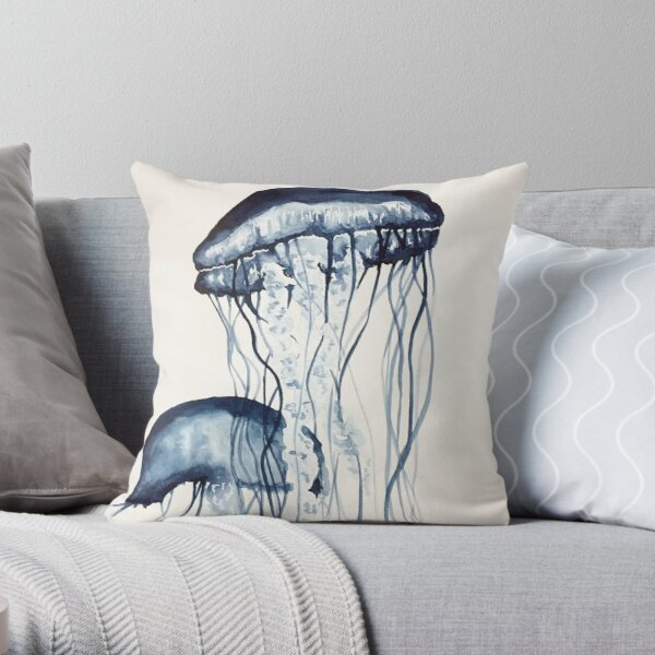 Jellyfish Dekokissen