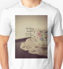 Tea Time Alice Wonderland Unisex T-Shirt