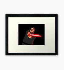 Fanboy Framed Print