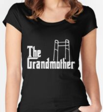 The Grandmother Funny Grandma Gift Women's Fitted Scoop T-Shirt