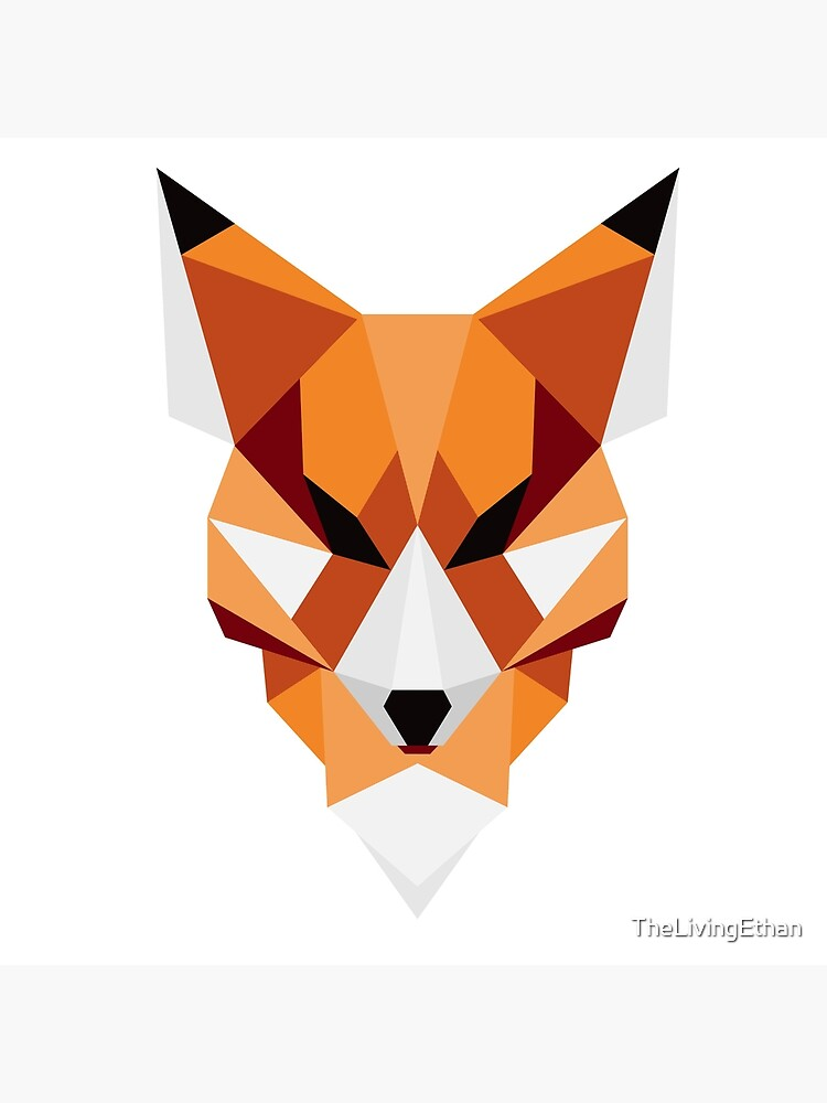 Geometric Fox by TheLivingEthan