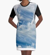 Moving Graphic T-Shirt Dress