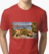 From the Town Hall Steps Tri-blend T-Shirt
