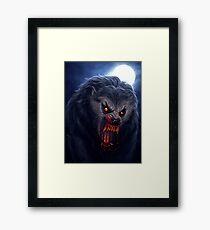 Beware the Moon... Framed Print