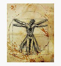 Vitruvian Zombie Photographic Print
