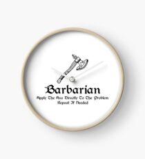DnD - Barbarian Clock