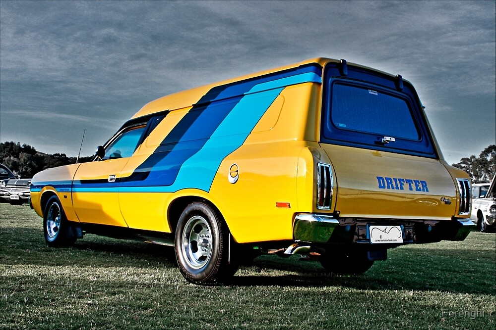 Valiant Drifter Panel Van by Ferenghi