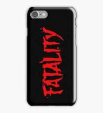 Fatality iPhone Case/Skin
