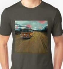 VW Bus on Sand Road Volkswagen Westfalia  Unisex T-Shirt