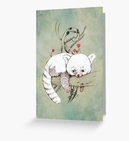Red Panda! Greeting Card