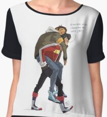 Klance at early stage! Women's Chiffon Top