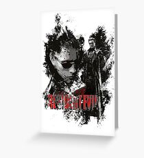 Albert Wesker Greeting Card