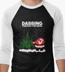 Cute Funny Dabbing Through the Snow T-Shirt