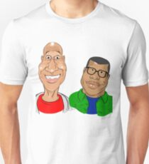 Key and Peele - Famous Caricatures T-Shirt