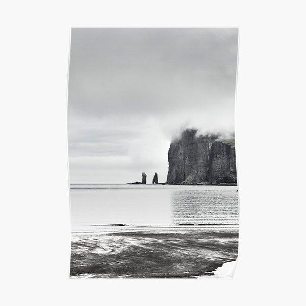 Tjørnuvík Sea Stack Poster