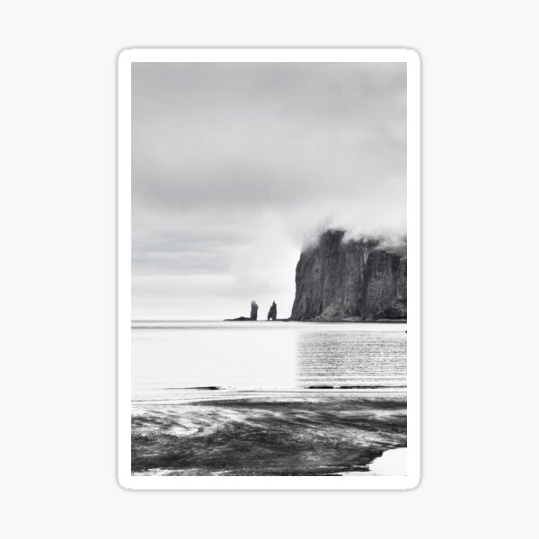 Tjørnuvík Sea Stack Sticker