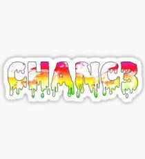 Chance 'Chanc3' The Rapper Sticker