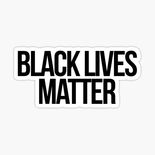 Black Lives Matter Pegatina