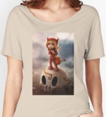 Wickedly Drawn Women's Relaxed Fit T-Shirt