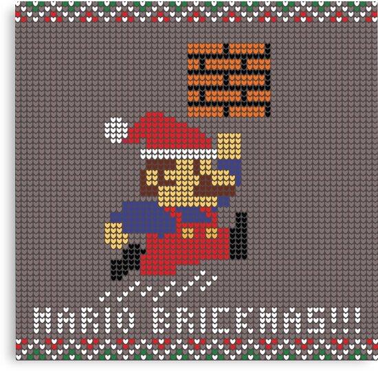 Mario Brickmas!!! by LgndaryTristan